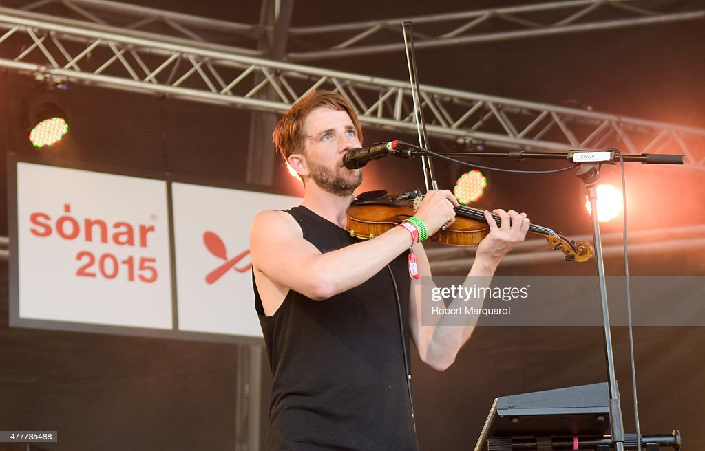 Owen Pallett performs on stage at Sonar Music Festival 2015 on June 19 2015 in Barcelona Spain