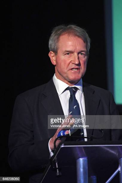 Owen Paterson during a press conference in central London with former Ukip leader Nigel Farage where they launched a paper on the impact of Brexit on...