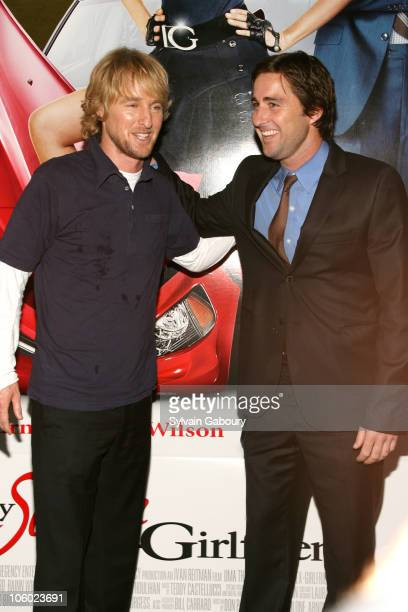 Owen Wilson and Luke Wilson during Twentieth Century Fox Premiere of 'My Super ExGirlfriend' Arrivals at Clearview Chelsea 23rd Street in New York...