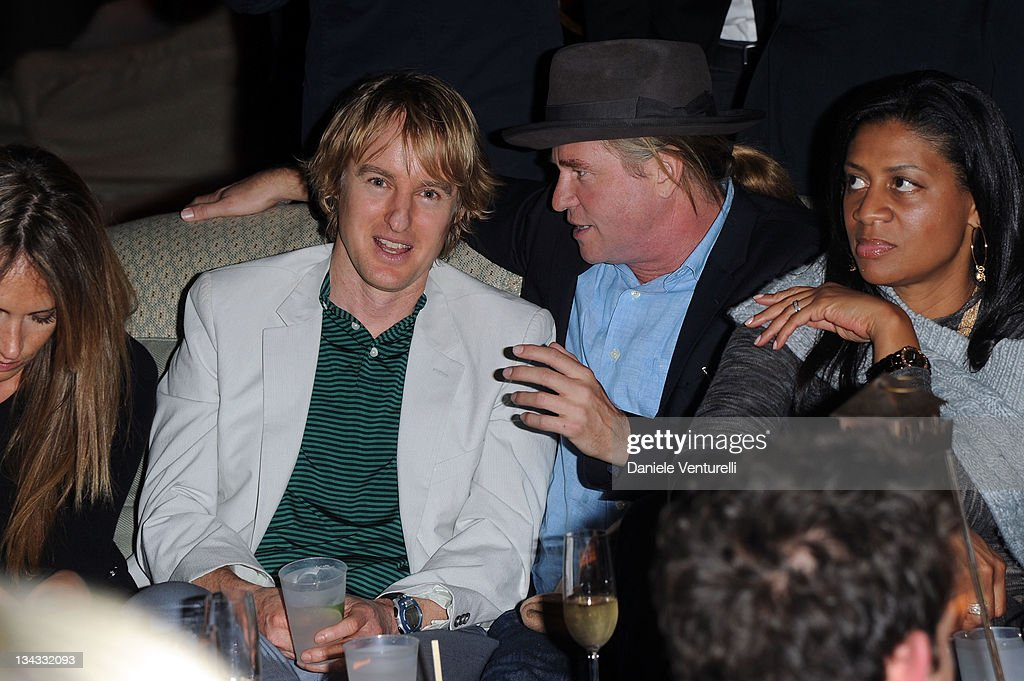 <a gi-track='captionPersonalityLinkClicked' href=/galleries/search?phrase=Owen+Wilson&family=editorial&specificpeople=202027 ng-click='$event.stopPropagation()'>Owen Wilson</a> and <a gi-track='captionPersonalityLinkClicked' href=/galleries/search?phrase=Val+Kilmer&family=editorial&specificpeople=202624 ng-click='$event.stopPropagation()'>Val Kilmer</a> attend the 'Carter Cleveland, Wendi Murdoch And Dasha Zhukova Host Party' at Soho Beach House on November 30, 2011 in Miami Beach, Florida.