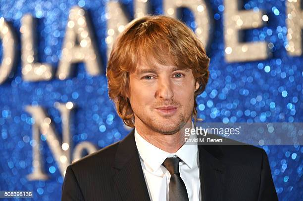 Owen Wilson attends a Fashionable Screening of the Paramount Pictures film 'Zoolander No 2' at Empire Leicester Square on February 4 2016 in London...