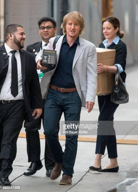 Owen Wilson is seen at 'Jimmy Kimmel Live' on June 06 2017 in Los Angeles California