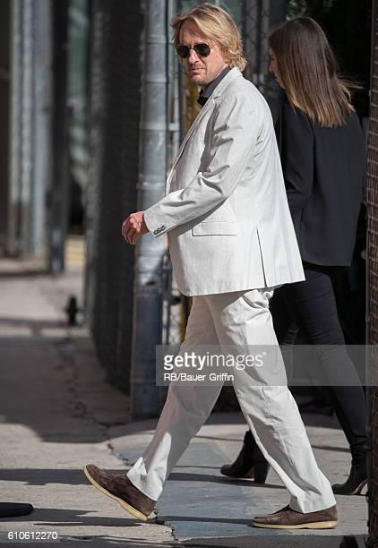 Owen Wilson is seen at 'Jimmy Kimmel Live' on September 26 2016 in Los Angeles California