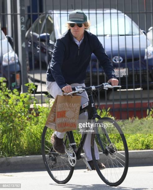 Owen Wilson is seen on March 16 2017 in Los Angeles California