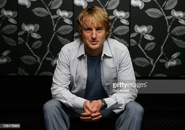 Owen Wilson poses during a photo call for 'Hall Pass' at Sheraton on the Park Hotel on February 28 2011 in Sydney Australia