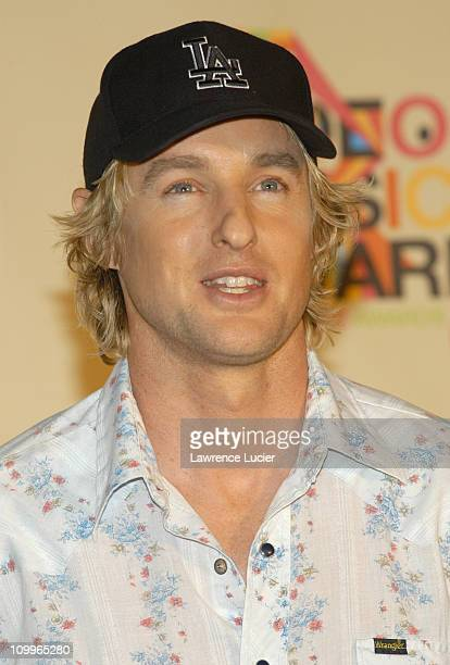 Owen Wilson presenter of Best Rock Video during 2004 MTV Video Music Awards Press Room at American Airlines Arena in Miami Florida United States