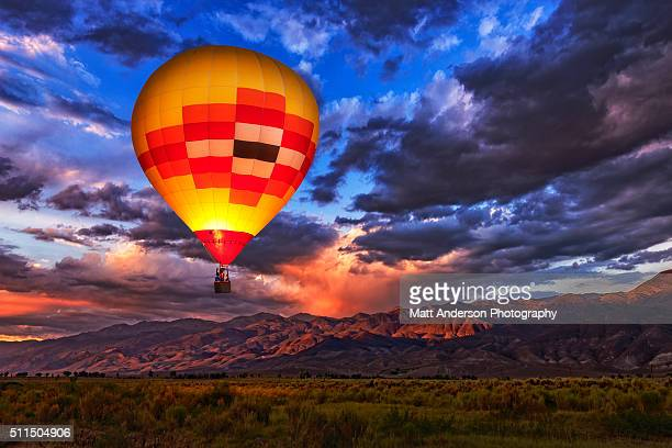 Owens Valley Hot Air Balloon Night Light