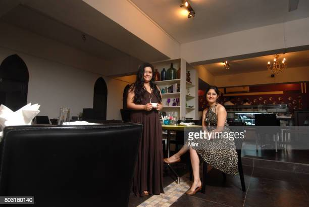 Owner and founder of Temperance Hema Thakur and Viola Wadia photographed during an interview with Mint