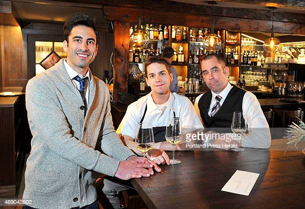Owner Benjamin Goldman left Executive Chef Chris Wilcox and Director of Operations and Maitre d' Brent Bushong are prepared for their customers...