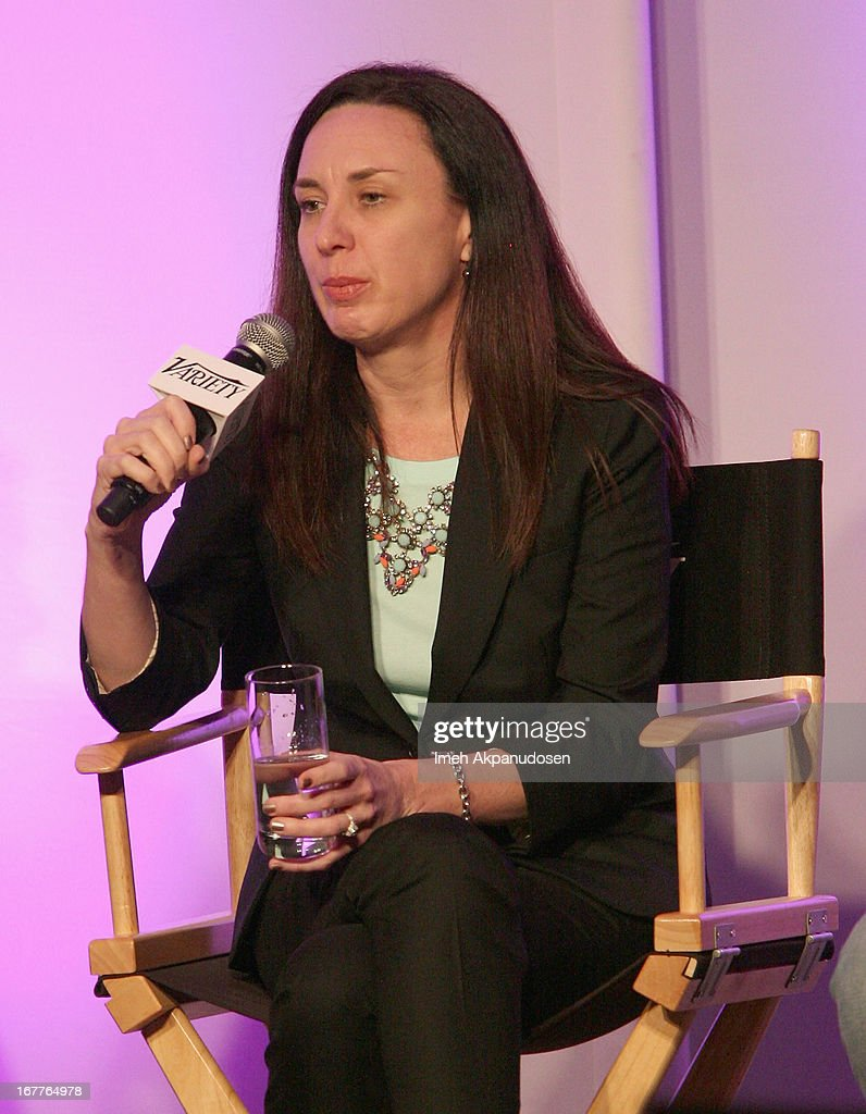 Owner Consumer Experience Enabling Program at Intel Laura Rumbel speaks onstage at Variety's Spring 2013 Entertainment and Technology Summit Co-Produced with Digital Hollywood at Ritz Carlton Marina Del Rey on April 29, 2013 in Marina del Rey, California.