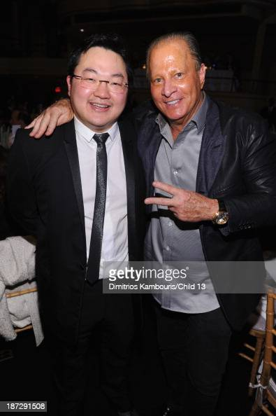 Owner EMI Music Publishing and Chairman EMI Music Publishing Asia Jho Low and Stewart Rahr attend Keep A Child Alive's 10th Annual Black Ball at...