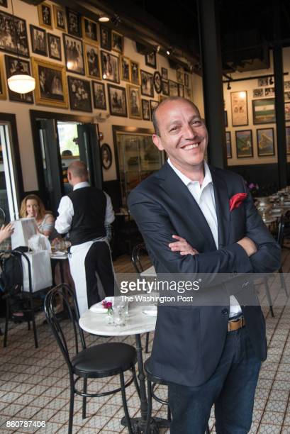 Owner Javier Candon at Joselito