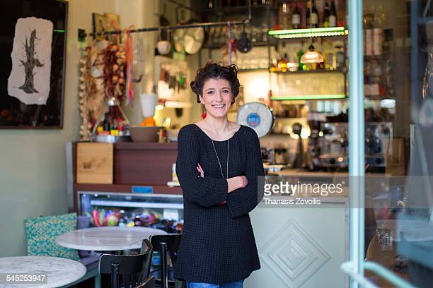 Owner of a traditional coffee shop
