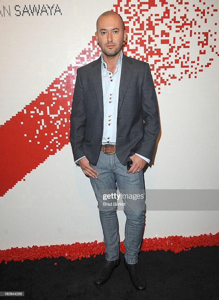Owner of Avant Gallery Dmitry Prut attends the In Pieces Exhibition Opening at Openhouse Gallery on March 1, 2013 in New York City.