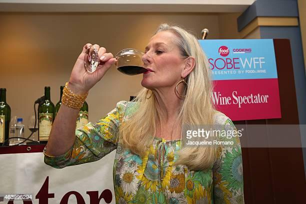 Owner of Far Niente Dolce Nickel Nickel and EnRoute wineries Beth Nickel attends the Wine Spectator Wine Seminar Nickel Nickel Single Vineyard Wines...