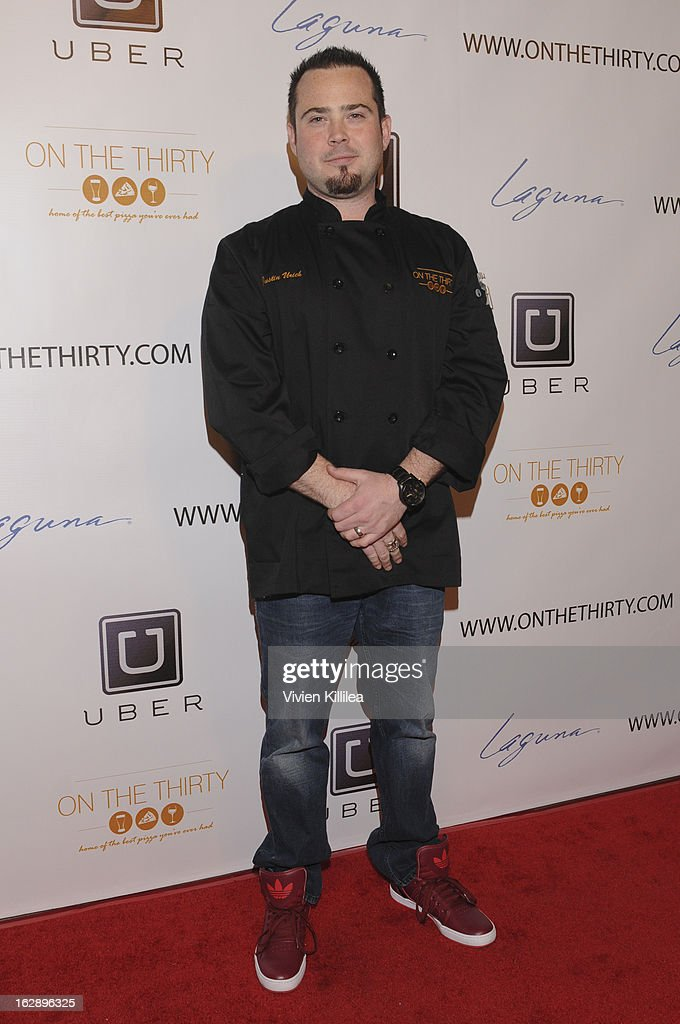 Owner of On The Thirty Justin Urich attends 'On The Thirty' Grand Opening at On The Thirty on February 28, 2013 in Sherman Oaks, California.