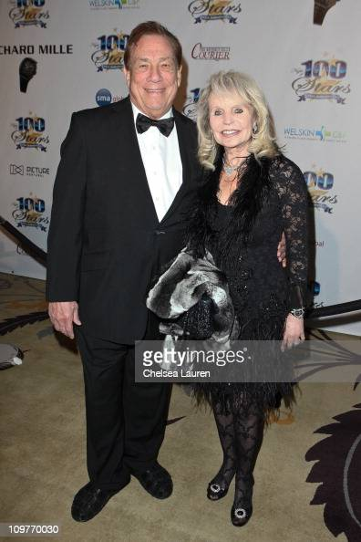 Owner of the Clippers Donald Sterling arrives at the 21st Annual Night of 100 Stars Awards Gala at Beverly Hills Hotel on February 27 2011 in Beverly...