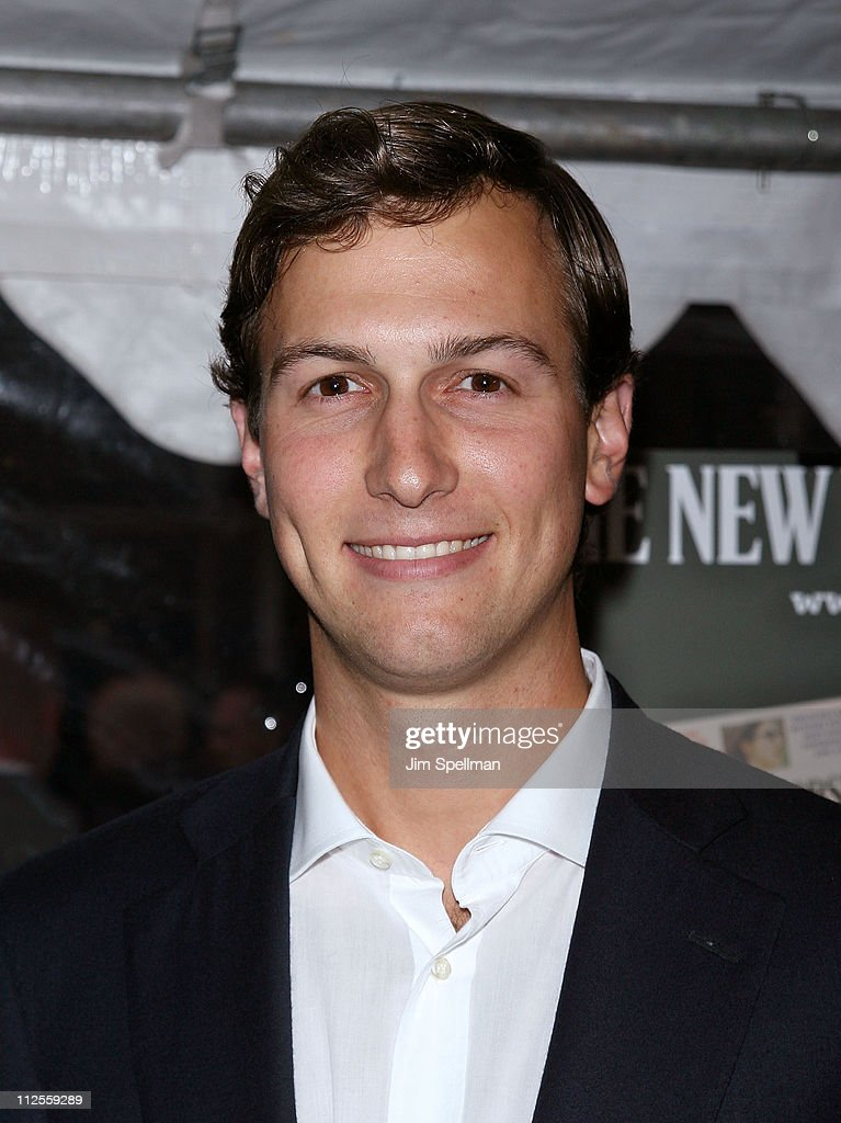 Owner of the New York Observer Jared Kushner arrives at 'The Hunting Party' Premiere at the Paris Theater on August 22, 2007 in New York City.