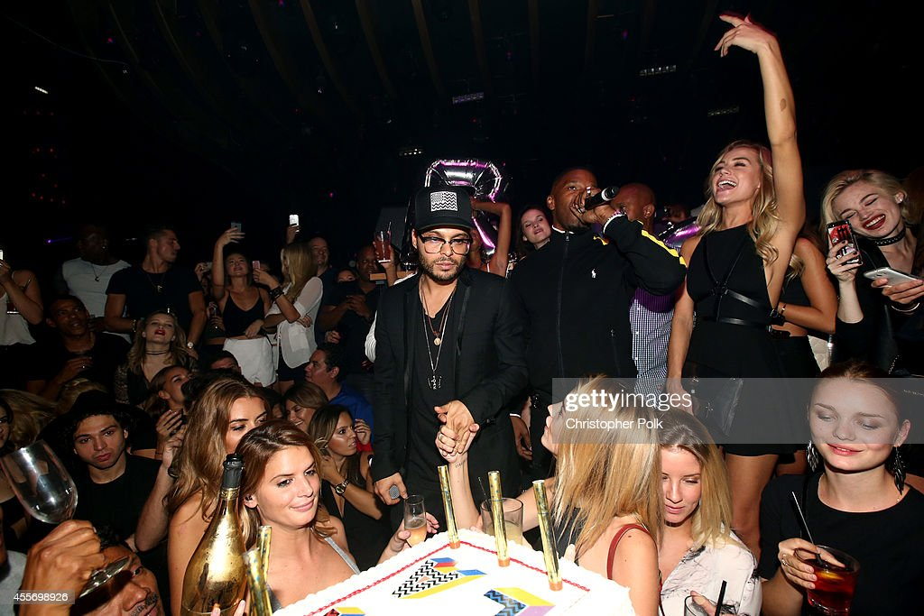 1OAK owner Richie Akiva attends Richie Akiva's birthday celebration at 1OAK on September 18 2014 in West Hollywood California