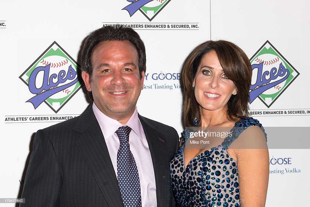 ACES owner <a gi-track='captionPersonalityLinkClicked' href=/galleries/search?phrase=Sam+Levinson&family=editorial&specificpeople=1688037 ng-click='$event.stopPropagation()'>Sam Levinson</a> and Dana Levinson attend the ACES Annual All Star Party at Marquee on July 14, 2013 in New York City.