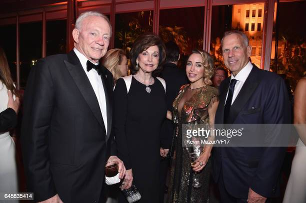 Owner/President/General Manager of the Dallas Cowboys Jerry Jones Eugenia Jones actor Katia Francesconi and Chairman and Executive Vice President of...
