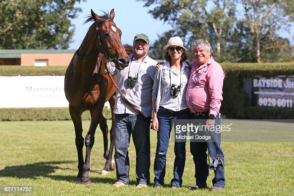 Owners of Go And Get Rich after winning United Commercial Projects BM58 Handicap at Mornington Racecourse on December 02 2016 in Mornington Australia