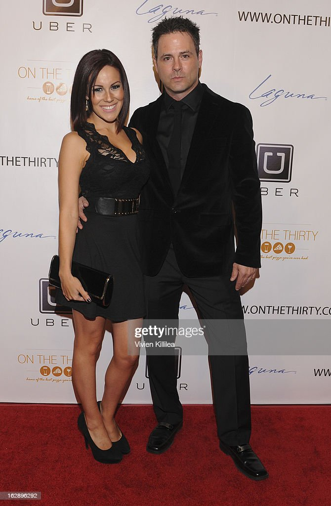 Owners of On The Thirty Ashley Kerwin and Shawn Kerwin attend 'On The Thirty' Grand Opening at On The Thirty on February 28, 2013 in Sherman Oaks, California.