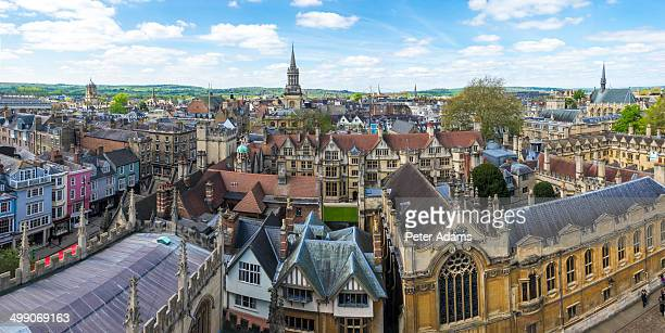 Oxford city skyline, Oxfordshire, England