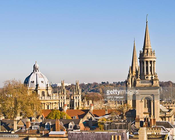 Oxford skyline, England