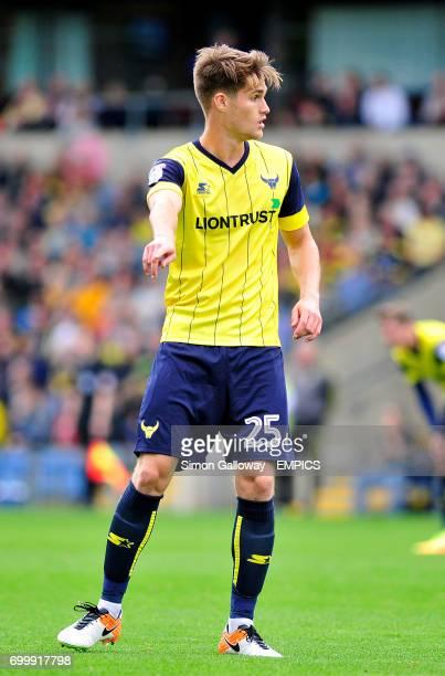 Oxford United's Charlie Raglan