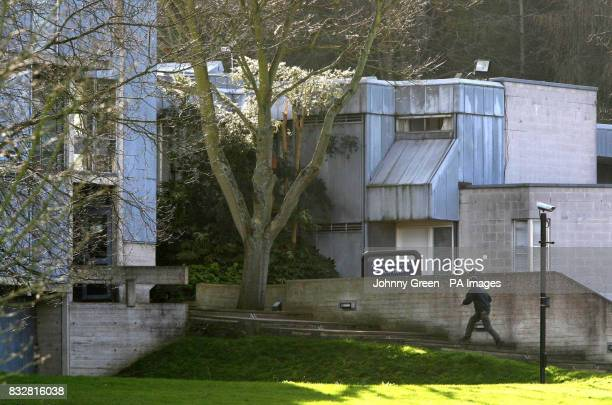 Oxford University's Templeton College in Kennington where two incendiary devices were found today