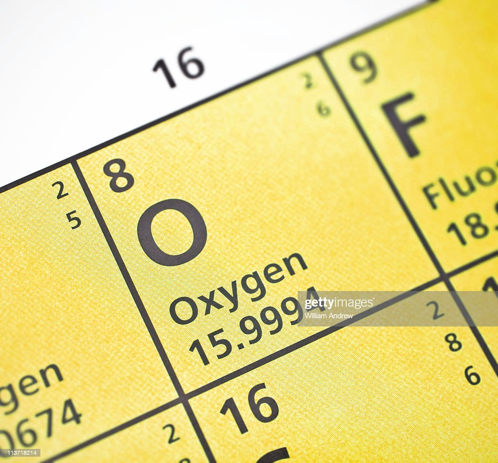 Periodic table for oxygen images periodic table images oxygen on periodic table stock photo getty images oxygen on periodic table stock photo gamestrikefo images gamestrikefo Images
