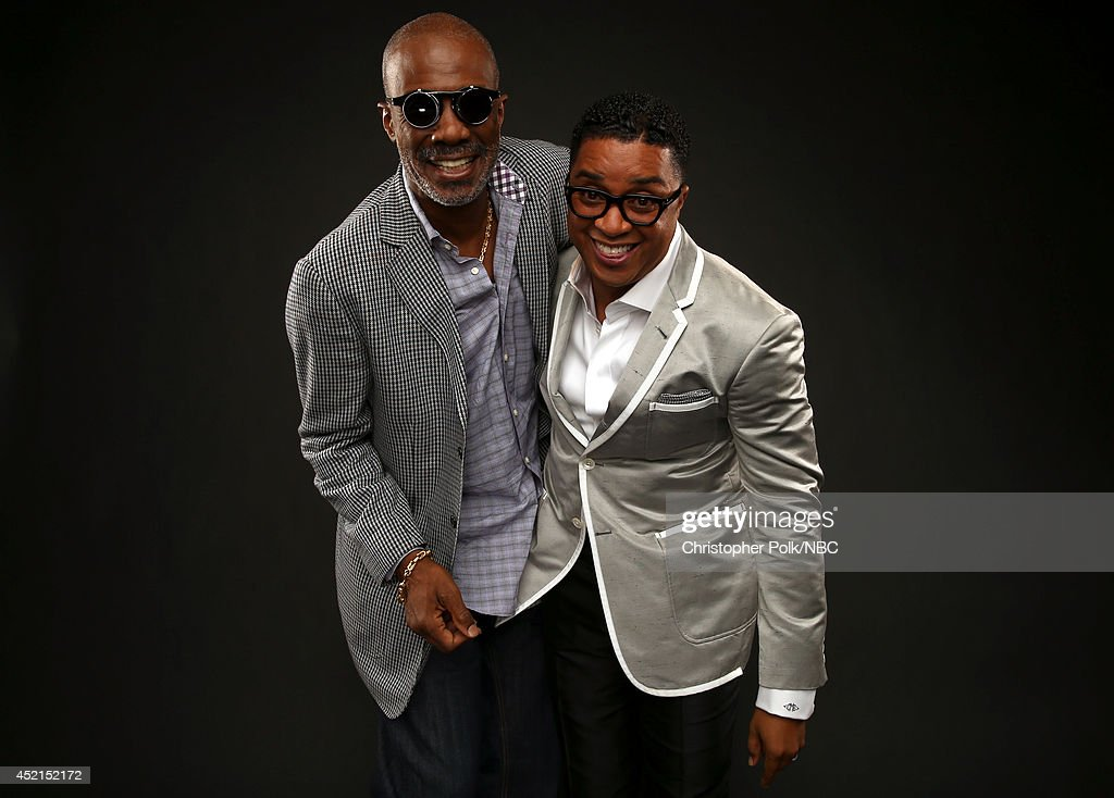 Oxygen's 'Preachers of L.A.' Bishop Noel Jones and Bishop Clarence McClendon pose for a portrait during the NBCUniversal Press Tour at the Beverly Hilton on July 14, 2014 in Beverly Hills, California.(Photo by Christopher Polk/NBCU Photo Bank via Getty Images) NUP_164677_2234.JPG