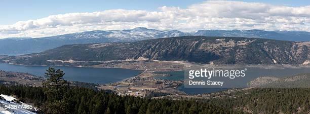 Oyama British Columbia Panorama
