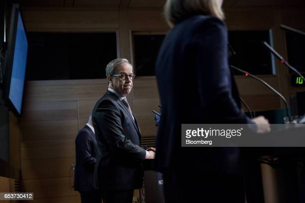Oystein Olsen governor of Norway's central bank also known as Norges Bank pauses during an interest rates news conference in Oslo Norway on Thursday...