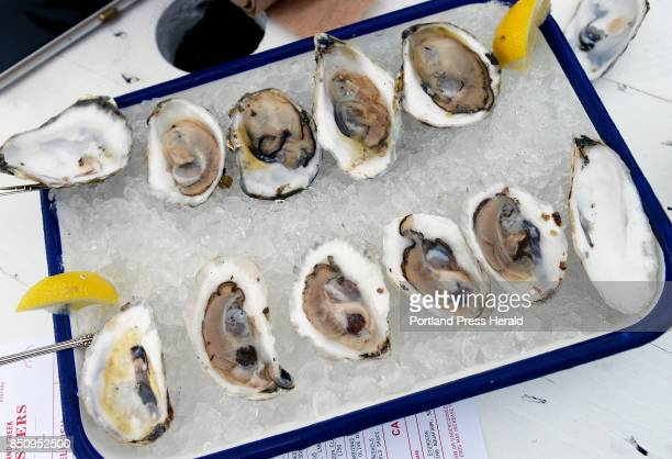 Oysters at Island Creek Oysters Thursday September 7 2017