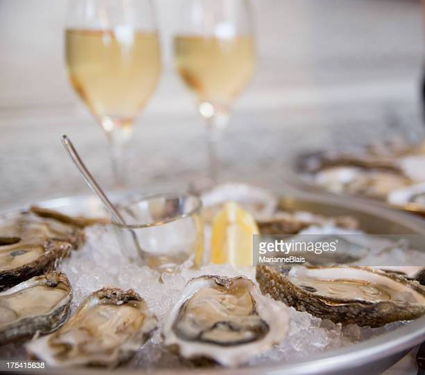 Oysters on the seaside