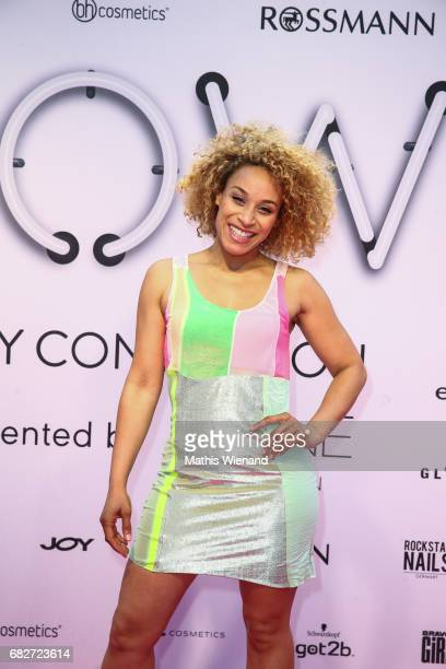 Ozeana attends the GLOW The Beauty Convention on May 13 2017 in Duesseldorf Germany