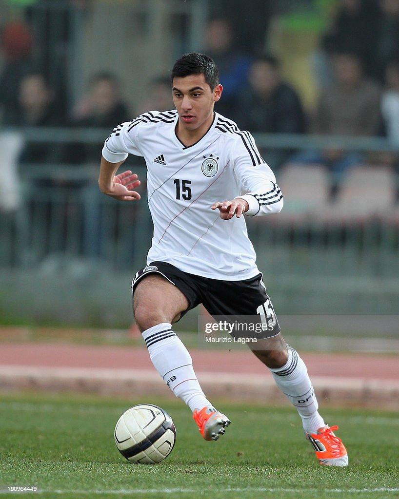 Ozkan Yildirim of Germany during U20 International Friendly match between Italy and Germany at Stadio Cosimo Puttilli on February 6, 2013 in Barletta, Italy.