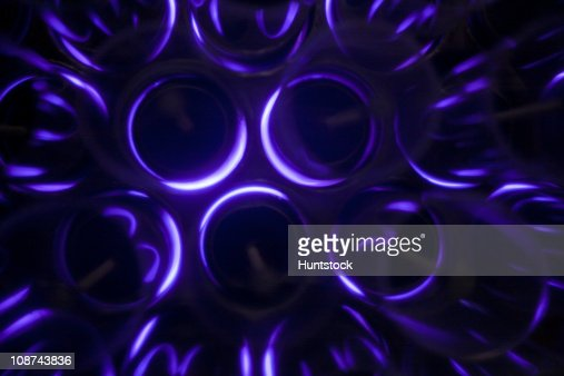 Ozone generators in a water treatment plant : Stock Photo