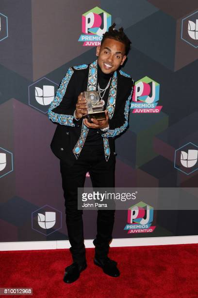 Ozuna attends the Univision's 'Premios Juventud' 2017 Celebrates The Hottest Musical Artists And Young Latinos ChangeMakers Media Center at the...