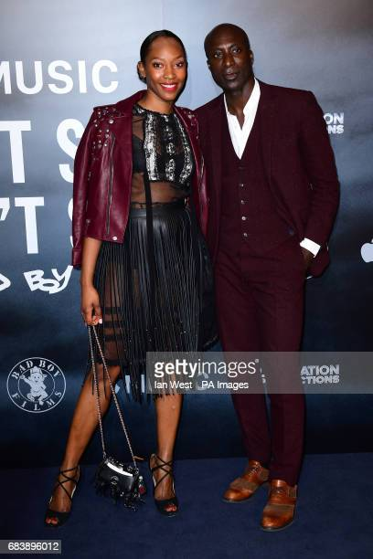 Ozwald Boateng and Vanessa Kingori attending the Can't Stop Won't Stop A Bad Boy Story screening at the Curzon Mayfair Curzon Street London PRESS...
