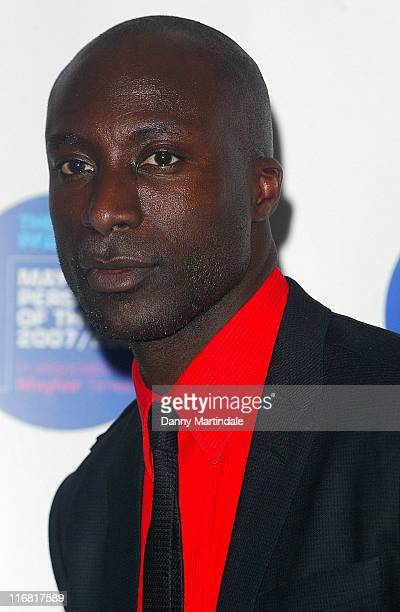 Ozwald Boateng arrives for the Mayfair Personality of the Year at Grosvenor House on March 12 2008 in London England