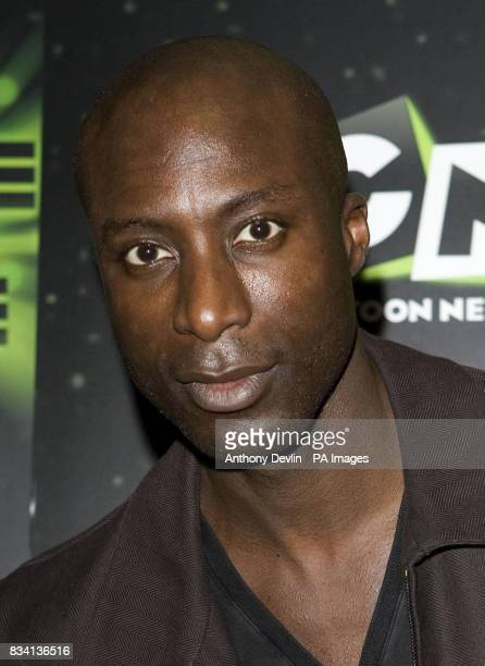 Ozwald Boateng arrives for the premiere of 'Ben 10 Race Against Time' at the Vue in Leicester Square London