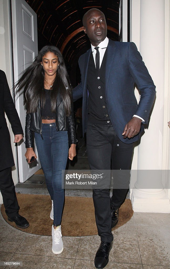 Ozwald Boateng at Sketch restaurant on March 6, 2013 in London, England.