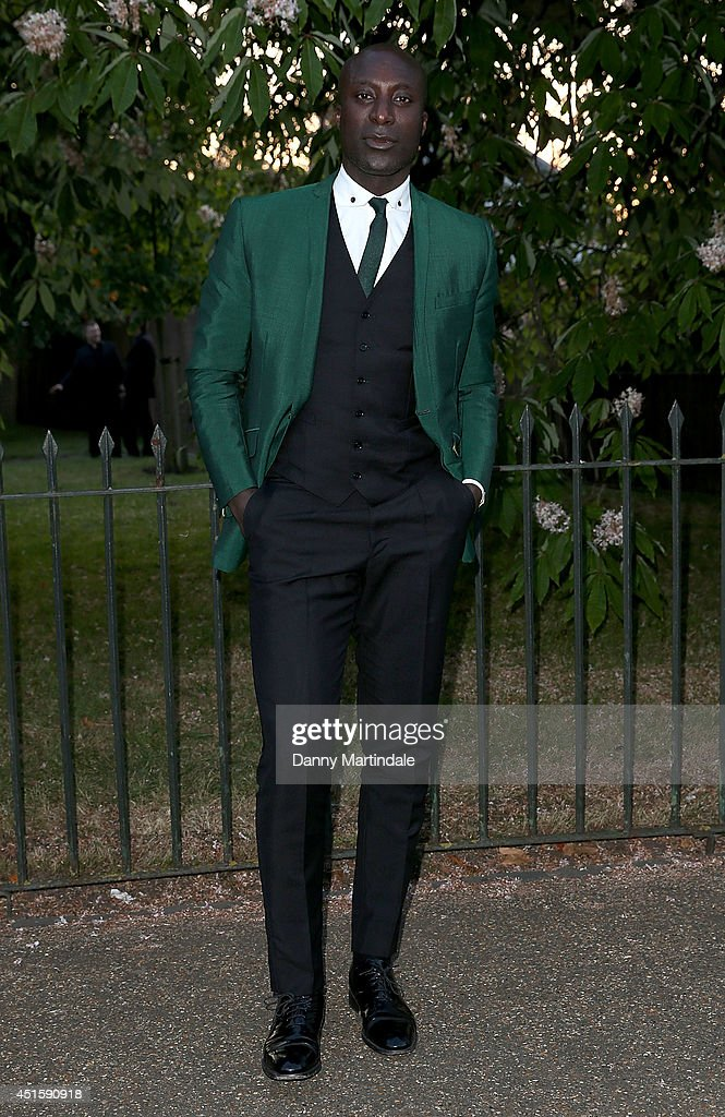 Ozwald Boateng attends the annual Serpentine Galley Summer Party at The Serpentine Gallery on July 1, 2014 in London, England.
