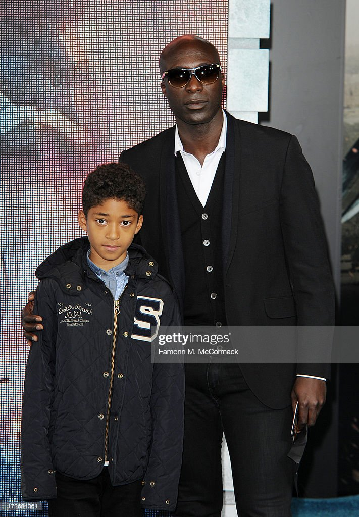 Ozwald Boateng attends the European Premiere of 'Pacific Rim' at BFI IMAX on July 4, 2013 in London, England.