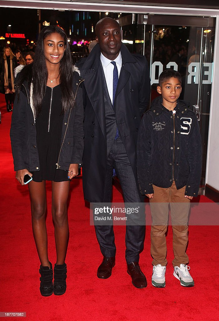 Ozwald Boateng attends the UK Premiere of 'The Hunger Games: Catching Fire' at Odeon Leicester Square on November 11, 2013 in London, England.
