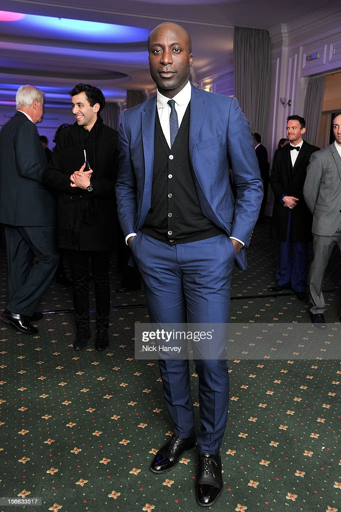 Ozwald Boateng attends the Zeitz Foundation and ZSL gala at London Zoo on November 22, 2012 in London, England.