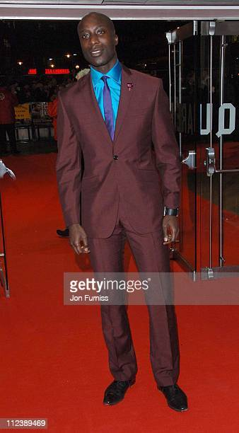 Ozwald Boateng during 'Blood Diamond' London Premiere Inside Arrivals at Odeon Leicester Square in London Great Britain